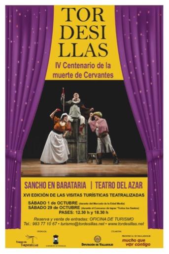 """SANCHO EN BARATARIA"""" en la XVI EDICIÓN de las VISITAS TURÍSTICAS ..."""